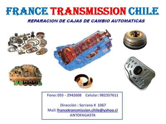 Reparación de cajas de cambio automáticas y mecánicas